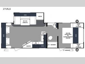 Surveyor 271RLS Floorplan Image