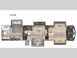 Beacon 41FLB Floorplan Image
