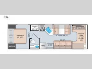 Chateau 28A Chevy Floorplan Image