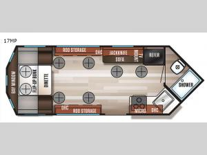 Cherokee Grey Wolf 17MP Floorplan Image