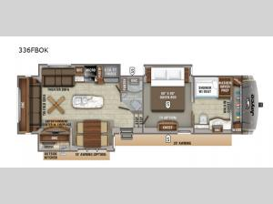 Eagle 336FBOK Floorplan Image