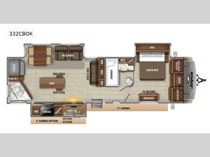 Eagle 332CBOK Floorplan Image