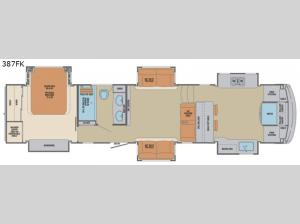 Columbus 1492 387FK Floorplan Image
