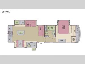 Columbus Compass 297RKC Floorplan Image