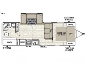Freedom Express Select 24SE Floorplan Image