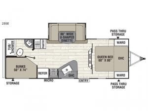 Freedom Express Select 25SE Floorplan Image
