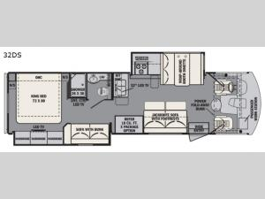 FR3 32DS Floorplan Image