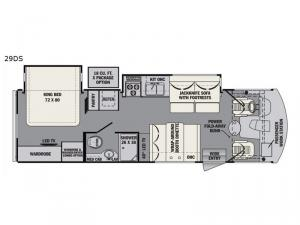 FR3 29DS Floorplan Image