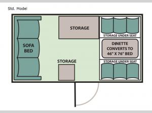 Scout Std. Model Floorplan Image