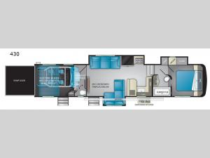 Road Warrior 430 Floorplan Image
