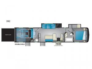 Road Warrior 392 Floorplan Image