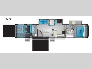 Road Warrior 4275 Floorplan Image
