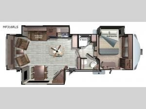 Mesa Ridge MF316RLS Floorplan Image
