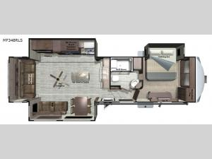 Mesa Ridge MF348RLS Floorplan Image
