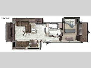 Mesa Ridge MR324RES Floorplan Image