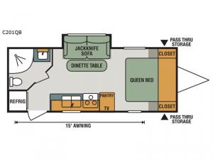 Connect Lite C201QB Floorplan Image