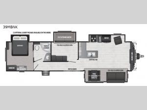Retreat 39MBNK Floorplan Image
