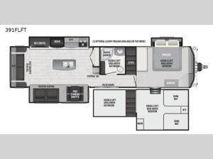 Retreat 391FLFT Floorplan Image