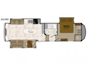 Bighorn 3010RE Floorplan Image