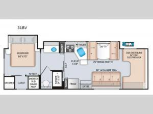 Four Winds 31BV Floorplan Image