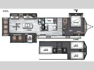 Salem Grand Villa 42DL Floorplan Image