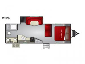 MPG 2550RB Floorplan Image