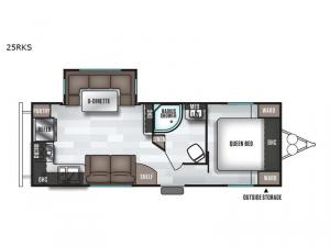 Salem 25RKS Floorplan Image