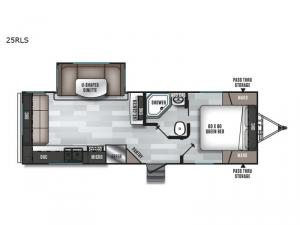Salem 25RLS Floorplan Image