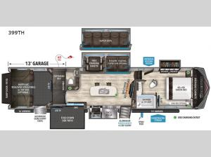 Momentum 399TH Floorplan Image