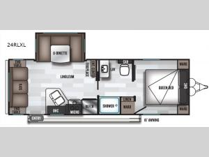 Salem Cruise Lite 24RLXL Floorplan Image