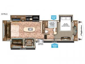 Reflection 337RLS Floorplan Image