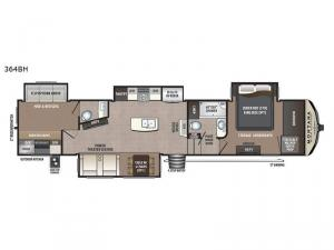 Montana High Country 364BH Floorplan Image