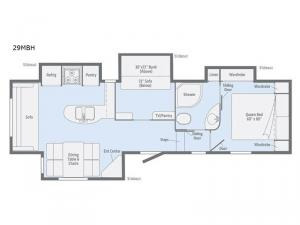 Minnie Plus 29MBH Floorplan Image