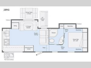 Minnie Plus 28RG Floorplan Image