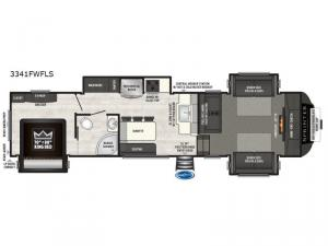 Sprinter 3341FWFLS Floorplan Image