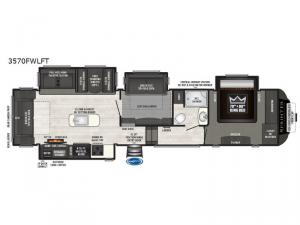 Sprinter 3570FWLFT Floorplan Image