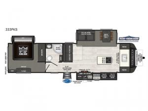 Sprinter 333FKS Floorplan Image
