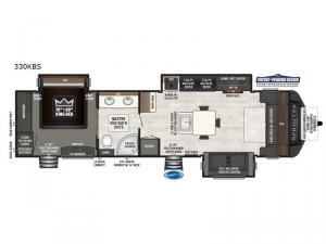 Sprinter 330KBS Floorplan Image