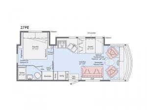 Sunstar 27PE Floorplan Image