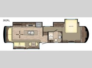 Redwood 382RL Floorplan Image