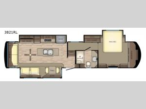 Redwood 3821RL Floorplan Image