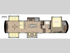 Redwood 399RD Floorplan Image