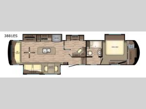 Redwood 3881ES Floorplan Image