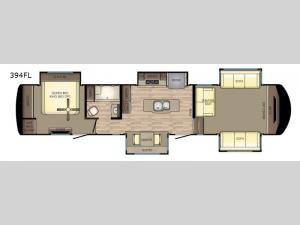 Redwood 394FL Floorplan Image