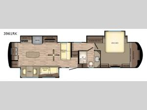 Redwood 3961RK Floorplan Image