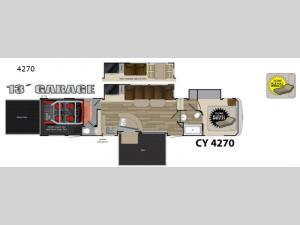 Cyclone 4270 Floorplan Image