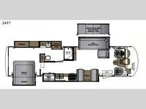 Georgetown 7 Series 34P7 Floorplan Image