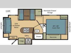 Eagle Cap 1165 Floorplan Image