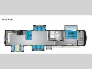 Big Country 3806 RKD Floorplan Image