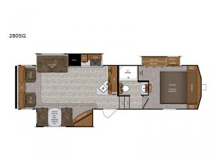 Wildcat 280SG Floorplan Image